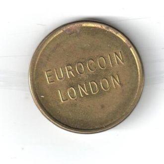 Жетон 25 Eurocoin London