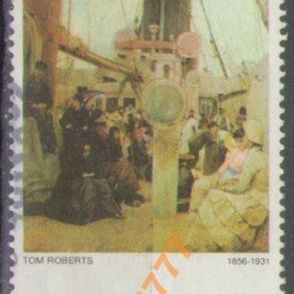Австралия Живопись Том Робертс Пароход $10