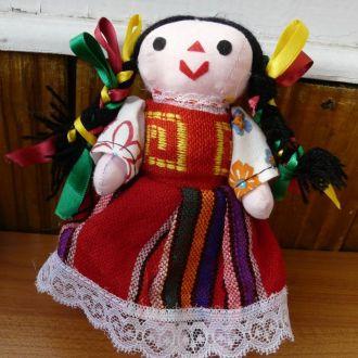 Лялька Кукла в национальном костюме Мексика 15см