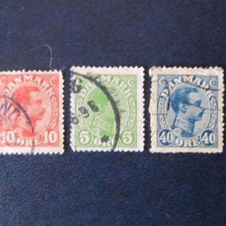3 марки Дания стандарты
