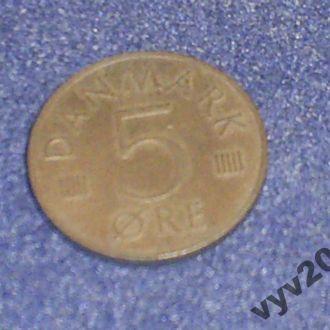 Дания-1983 г.-5 эре