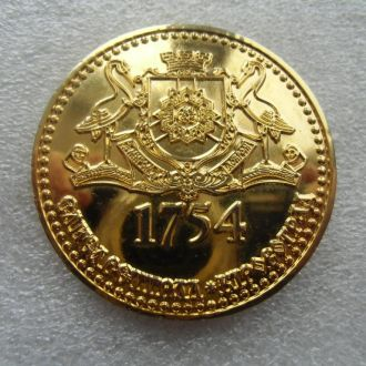 Медаль Елисаветград Кировоград 1754 Бронза