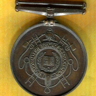 Великобритания  медаль пожарник за выслугу 1930