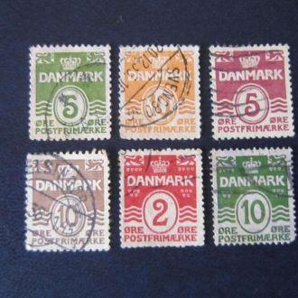6 марок Дания стандарт