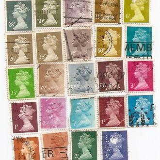 Великобританія Королева (№597)