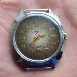 Часы Луч СССР 2209 механизм- позолота Рабочие