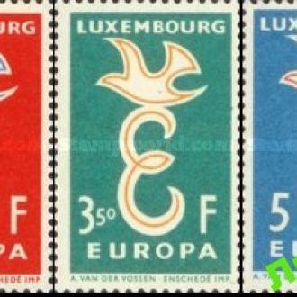 Люксембург 1958 Европа Септ ** о
