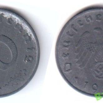 10 рейхспфеннигов 1942 A  Германия