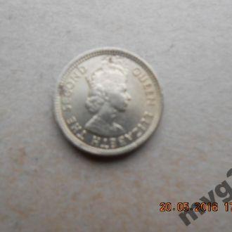 Гонконг,5 центов,1965 год.