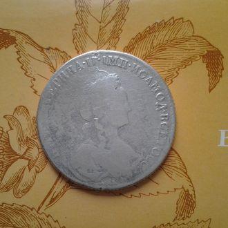 1 рубль 1770 год. Серебро