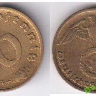 10 рейхспфеннигов 1937 А  Германия