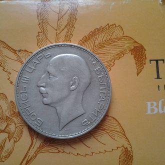 Болгария 100 лев 1934 год. Серебро