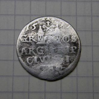 Трояк Сигизмунд III Ваза 1597 Рига, редкий