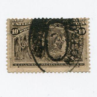 США 1893 КОЛУМБ 10 ЦЕНТОВ