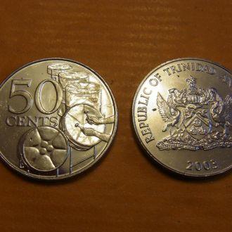 Тринидад и Тобаго 50 центов 2003 UNC Музыка Бараба