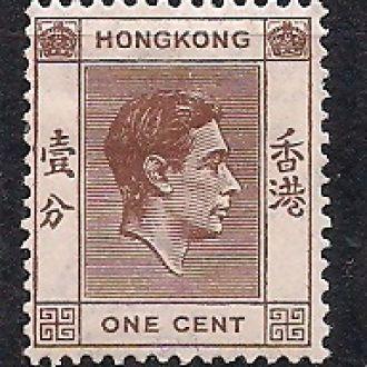 БРИТ. КОЛОНИИ HONG KONG 1938 MH