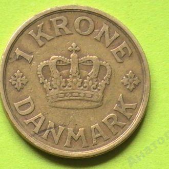 1 Крона 1925 г Дания 1 Крона 1925 р Данія
