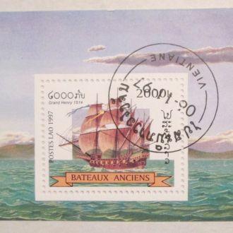 Лаос 1997 Парусники. Флот