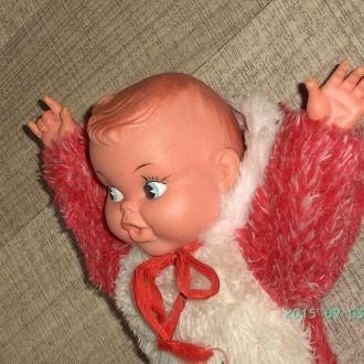 Интересная Старая кукла. резиновая голова №3