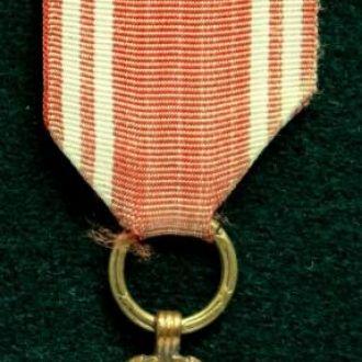 Медаль ВООРУЖЕННЫЕ СИЛЫ НА СЛУЖБЕ РОДИНЕ. 5 лет