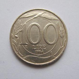100 лир = 1994 г. = ИТАЛИЯ