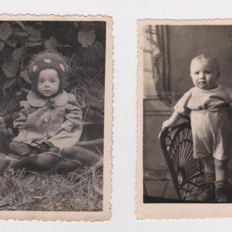 ДЕТИ = 2 фото 1950-х годов