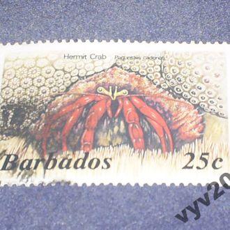 Барбадос-1985/6 г.-Краб