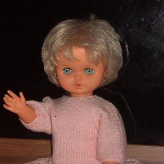 Винтажная Кукла Lissi Batz Германия Клеймо механиз