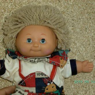 Винтажная кукла капустка.