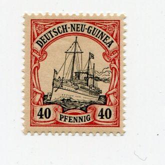 ГЕРМАНИЯ 1900 КОЛОНИИ ** НОВАЯ ГВИНЕЯ ФЛОТ КОРАБЛЬ