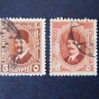 2 марки Египет стандарт