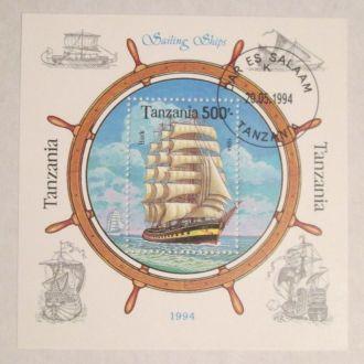 Танзания 1994 Парусники. Флот