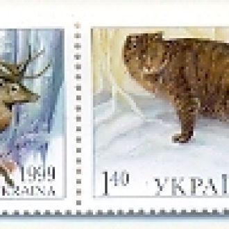 УКРАИНА 1999 ФАУНА ОЛЕНЬ