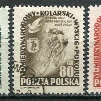 Польша 1953 Спорт Велогонка мира КЦ -15 Евро!!!