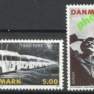 Дания 1995 Европа СЕПТ мир транспорт автомобиль 2м
