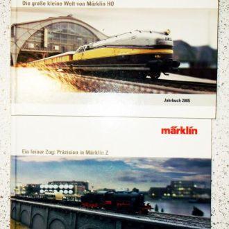 КАТАЛОГ ПРОДУКЦИИ MАRKLIN в 2 томах 2005 - Z- НО