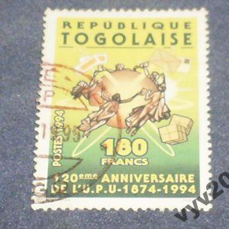 Того-1994 г.-Почтовый союз
