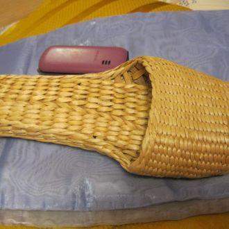 лапоть декор плетеный купила деревне Кипр сувенир