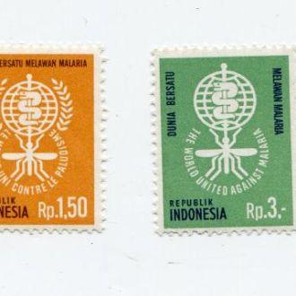 ИНДОНЕЗИЯ 1962 МЕДИЦИНА МАЛЯРИЯ