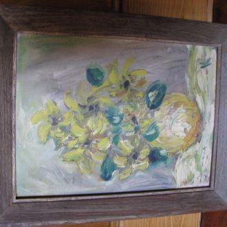 Картина полотно . масло. підпис (К). (usa). 31х23с