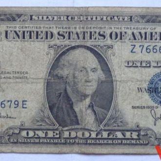 1 доллар 1935 г  D