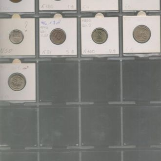 разновидности СССР комплект №10 - 115 ШТ.