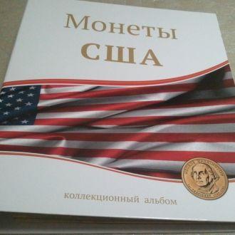 Альбом для монет США 25 центов, 1доллар, Сакагавея