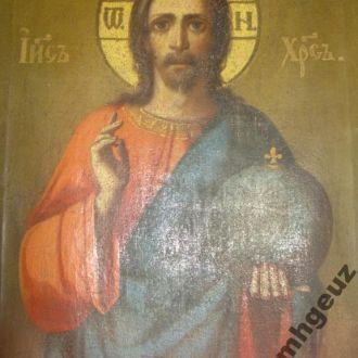 Святая икона Спасителя. 19 в.