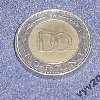 Венгрия-1997 г.-100 форинтов
