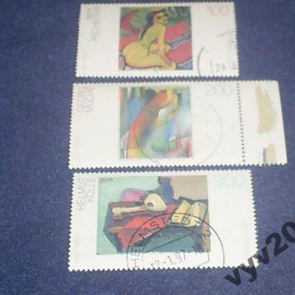 Германия-1996 г.-Живопись (полная) 5,5 евро