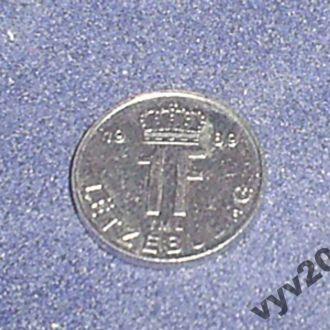 Люксембург-1989 г.-1 франк