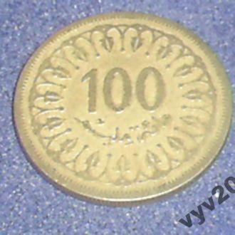 Тунис-1983 г.-100 миллим