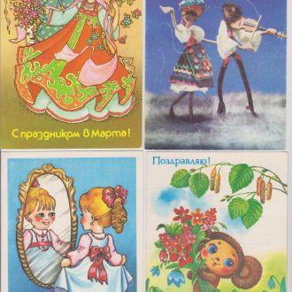 8 МАРТА = 16 ДМПК 1985 - 1991 г. = чистые