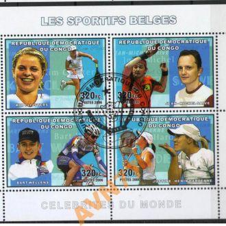 Конго 2006 Теннис Велоспорт блок